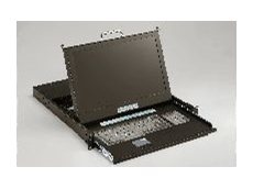 Rack mount keyboard monitor drawers