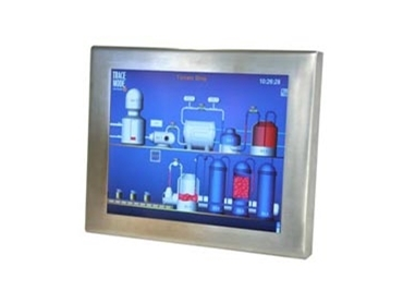 Stainless steel monitor PC