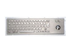 Stainless steel keyboards