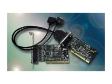 Universal low profile serial cards