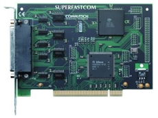 Very high speed PCI board