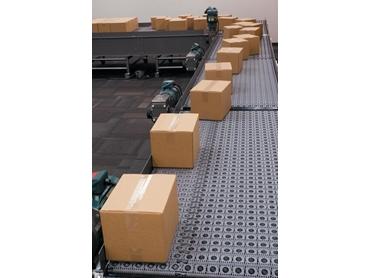 Conveyor Roller Belt Technology for Case Handling Applications