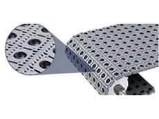 Intralox Activated Roller Belt conveyor platform
