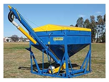 Bulk Seed Fertiliser and Grouper Single Bin option is a high quality agricultural solution to grain handling