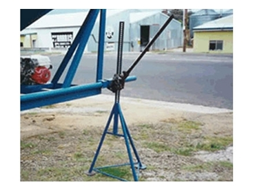 A stable and strong agricultural jack, Lift A Legs is easy and safe lifting solution