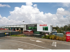 The new Isuzu Brisbane parts facility