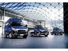 IVECO Daily in its three primary configurations: van, cab/chassis and dual cab/chassis