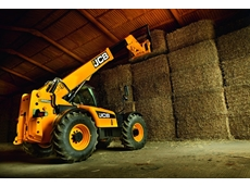 The JCB range of Loadall telehandlers form part of the JCB hay handling range