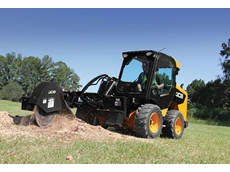 JCB's stump grinders remove tree stumps with ground-breaking speed, control and safety when combined with the JCB skid steer