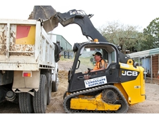 JCB's new skid steer and tracked loaders offer a unique side door entry, spacious cab and single arm PowerBoom