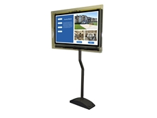 JVue interactive touch screen digital signage system