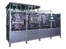 Capable of efficiently processing dozens of styles of free-standing block bottom packs.