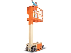 Jlg Launches New Compact Mast Lift Model 1230es