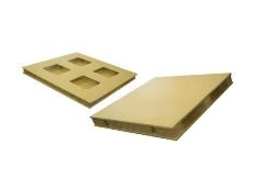 Corrugated cardboard pallets are made from 100% recyclable materials.