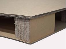 JMP's corrugated cardboard pallet