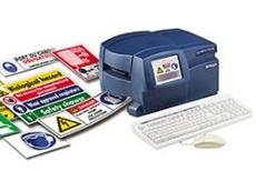 Desktop label printer