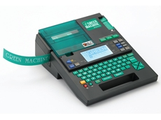 The K-Sun Green Machine label printer