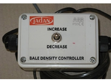 In Cab Bale Density Control Module