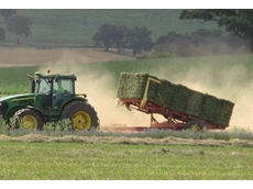 Get Hay out of the Paddock Quickly and Efficiently with the Big Bale Stacker from Jadan Enterprises