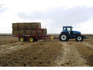 Jadan Big Bale Chaser is a Revolution in Efficient Hay Handling Machinery