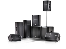 JBL PRX600 series portable powered loudspeakers