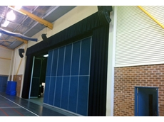 A section of the AV installation at the performing arts venue of the Oxford Falls Grammar School