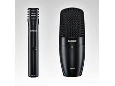 Shure SM microphones