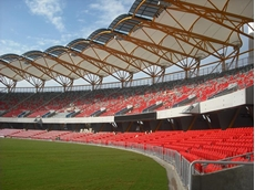 The new Metricon Stadium in Carrara