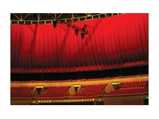 Theatrical drapes