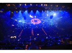 Var-Lit lighting rigs used in Brittney Spears tour