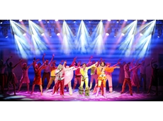 Vari-Lite lighting systems from Jands used in Broadway show Mamma Mia