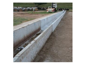 Concrete Cattle Feeding Troughs Available From Javpac
