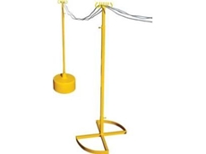 The Giraffe electrical lead stand