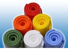These silicone rubber compounds are available in a range of colours and sizes