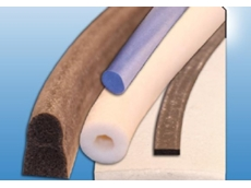 Silicone sponge extrusions can be formed into a variety of different shapes