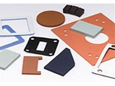 Closed cell silicone sponge gaskets and cushioning pads