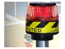 Indicator beacon available in red, green, amber, blue, and white.