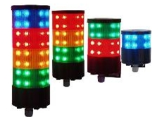 Stackable LED beacons