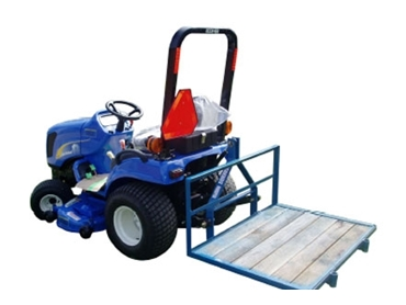 The point linkage tractor mounted Carryalls are an effortless addition to increase productivity