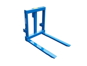 Pallet Forks are registered with serial numbers for security and warning decals for operational safety