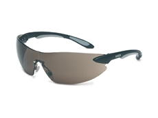 Eye and ear protection products include wrap-around safety glasses