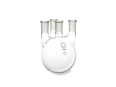 Four neck flask laboratory glassware