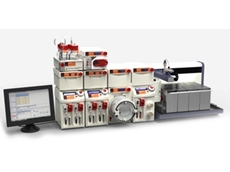 Asia Model 330 flow chemistry systems feature an automated sampler and diluter