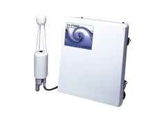 Open path CO2/H20 infrared gas analyser measures carbon dioxide and water vapour in turbulent air