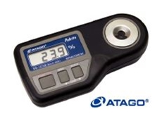 PR-101alpha digital refractometer.