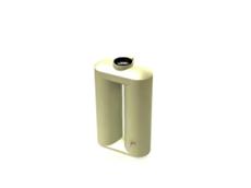 Aqua Spring 650 Litre Slim Rain Water Tanks from Just Wheelie Bins