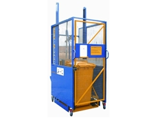 Lift Master Universal 250 bin lifters are designed for medium to heavy duty applications