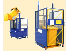 Lift Master range of wheelie bin lifters