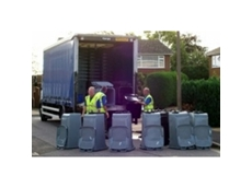 Municipal contracting wheelie bin roll outs assembly and distribution services from Just Wheelie Bins