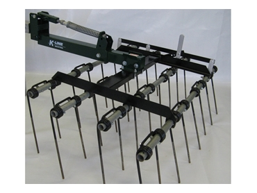 Adjustable tine angles for flexibility